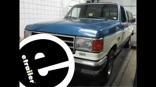 etrailer | Trailer Brake Controller Installation - 1991 Ford F-150 - YouTubeYouTube