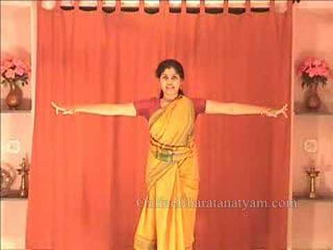 Natta Adavu in Bharatanatyam (Part Two)