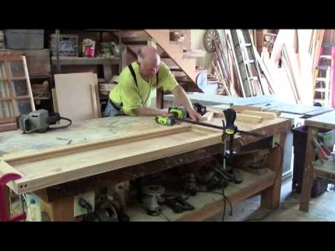 casements #4 DIY cutting in hinges