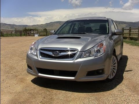 2011 Subaru Legacy 2.5GT first drive review