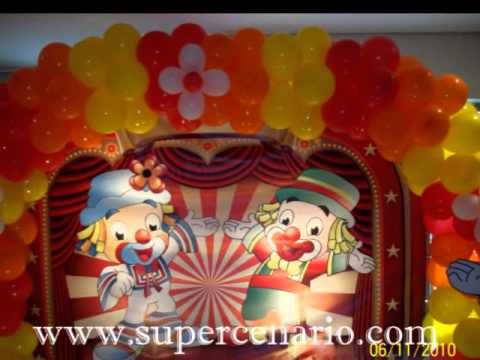 Decoração Clean Festa Infantil Patati Patatá
