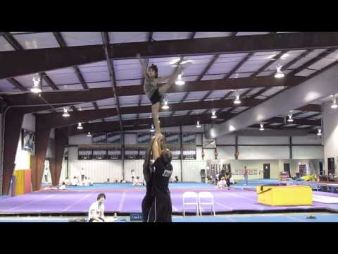 Cheer Extreme Senior Elite CEA 2012 Stunt