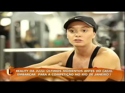 Legendários acompanha o dia-a-dia do  personal trainer Felipe Franco ea Juju Salimeni