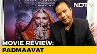 Film Review: Padmaavat - NDTV