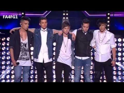 The Collective: Incredible - The X Factor Australia 2012 - Live Show 7, TOP 6