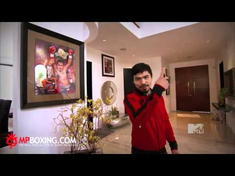 Manny Pacquiao on MTV Cribs