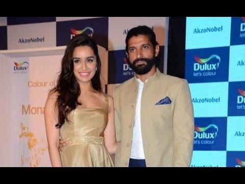 'Rock On 2' Stars Shraddha & Farhan At A Paint Launch!
