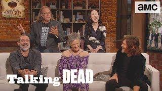 'Does Norman Reedus Do His Own Stunts?' Season Premiere Fan Questions  | Talking Dead - AMC