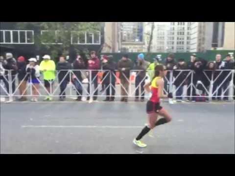 2014 NYC Marathon slow motion