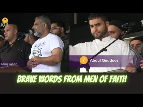 Brave Words from Men of Faith Tariq Jahan & Abdul Quddoos 14 August 2011