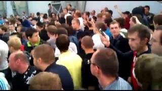 Как встретили молдавских хамов