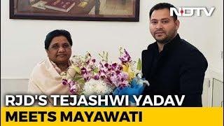 "Tejashwi Yadav Predicts BJP's ""Whitewash"" After Meet With Mayawati - NDTV"