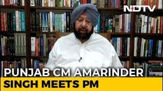 Amarinder Singh Meets PM Modi, Asks Compensation For Stubble Burning - NDTV