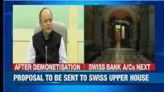 India closer to Swiss bank's secrets; automatic information exchange pact approved - NEWSXLIVE