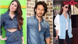Kareena, Tiger & Alia Set The New Fashion Trend Of Denim On Denim   #FashionFriday - ZOOMDEKHO