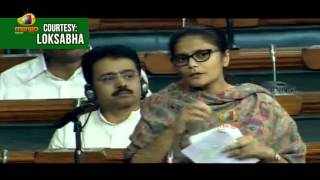 Sushmita Dev Speaks On Maternity Benefit Bill 2016 | Lok Sabha | Parliament | Mango News - MANGONEWS