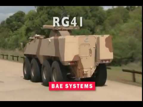 BAE Systems - RG41 Wheeled Armoured Combat Vehicle [480p]