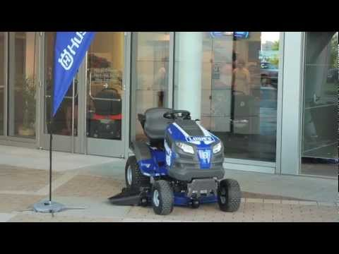 Husqvarna Fast Tractor Launch at NASACR Hall of Fame