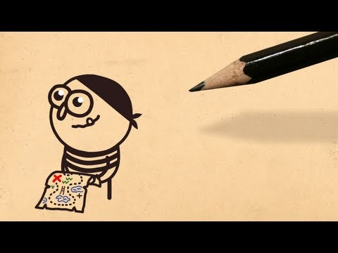 X Marks the Spot | Pencilmation #33 | Cartoons for Kids and Fun People