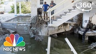 360 Video: Residents Return to damaged homes in Key West, Florida After Hurricane Irma | NBC News - NBCNEWS