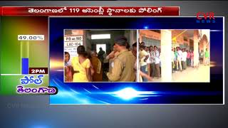 Warangal Election Polling | 3012 polling stations arranged | CVR News - CVRNEWSOFFICIAL