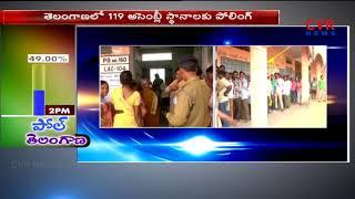 Warangal Election Polling   3012 polling stations arranged   CVR News - CVRNEWSOFFICIAL