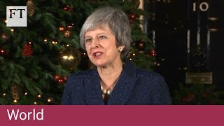May wins confidence vote and seeks to reassure - FINANCIALTIMESVIDEOS