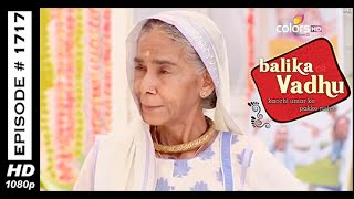 Balika Vadhu : Episode 1709 - 20th October 2014