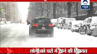 Snow emergency in some areas of America | Heavy snowfall creating chaos - ABPNEWSTV