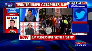 GVL Narasimha Rao On Effective Usage Of EVMs In Gujarat Assembly Elections 2017 | Panelists Disagree - TIMESNOWONLINE
