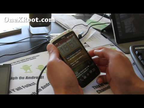 How to Root HTC One X on Mac OSX!