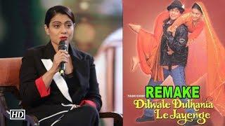 'Dilwale Dulhaniya Le Jayenge' REMAKE, Kajol Answers - IANSINDIA