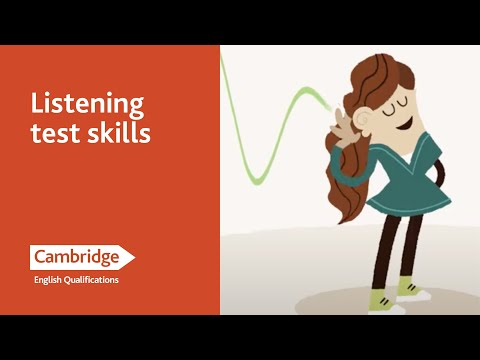 English Language Learning Tips - Listening Test Skills