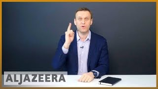 Russia: Navalny trying to undermine the election's legitimacy - ALJAZEERAENGLISH