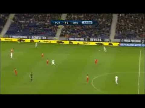 Denmark vs Portugal 2-3 EURO 2012 All Goals & Highlights 13/6/2012
