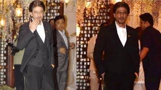 video:अम्बानी की पार्टी में शाहरुख के जलवे