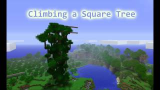 Royalty Free :Climing a Square Tree