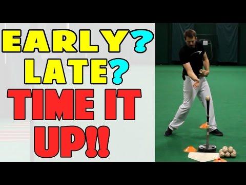 Cone Timing Drill | Baseball Hitting Drill (Pro Speed Baseball)