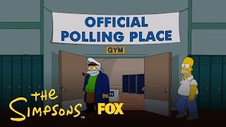 I Simpson la nuova stagione. Homer vota per Romney e poi si pente
