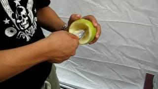 Как делать кальян на яблоке