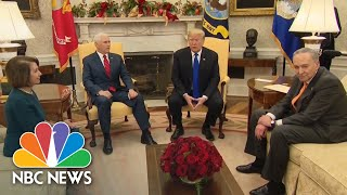 Trump Tells Pelosi, Schumer He'd Be 'Proud' To Shut Down Government Over Border Wall | NBC News - NBCNEWS