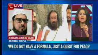 Muslims by and large are not opposing Ram temple— Sri Sri Ravishankar - NEWSXLIVE