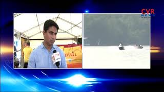 F1H2O Amaravathi Power Boat Reaches Vijayawada|Mahalakshmi Group CEO Sandeep Face to face | CVR News - CVRNEWSOFFICIAL
