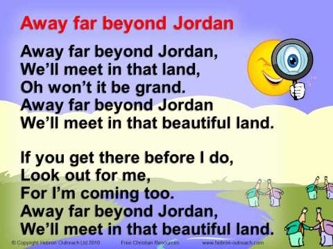 Away Far Beyond Jordan - Chorus - hebron-outreach.com