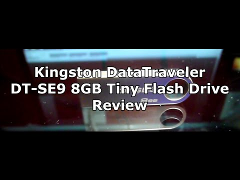 Kingston DataTraveler DT SE9 8GB Tiny Flash Drive Review