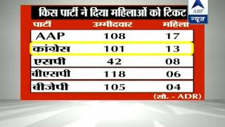 Just 118 women in the Lok Sabha poll fray - ABPNEWSTV