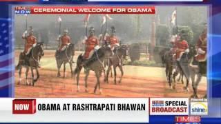 21-gun salute to President Barack Obama - TIMESNOWONLINE