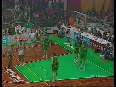 Finale Coppa Italia 1992 - Scavolini Pesaro vs Benetton Treviso