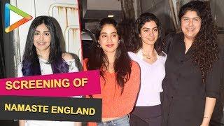Namaste England special screening | Janhvi Kapoor | Khushi | Adah Sharma - HUNGAMA