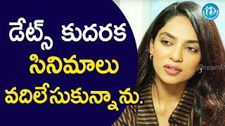 డేట్స్ కుదరక చాలా సినిమాలు వదిలేసుకున్నాను - Actress Sobhita || Talking Movies With iDream - IDREAMMOVIES